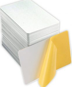 PVC Adhesive Backed Cards