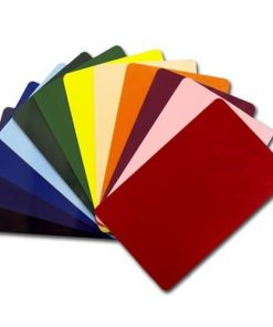 PVC Coloured Cards