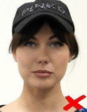 wearing hat id photo